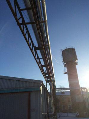 Для теплоизоляции трубопроводов завод ТИС произвел теплоизоляцию для труб ППУ ТИС ЭНЕРГО с внутренним диаметром 63 мм и толщиной стенки 36 мм.