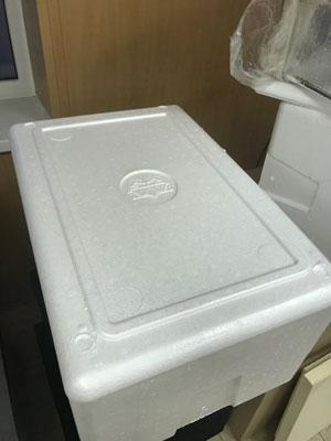 Теперь фирменный сыр Coeur Уральских производителей доставляется до потребителя в пенопластовых термоконтейнерах Вармбокс с фирменным логотипом продукции.