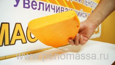 Пеномасса имеет закрытопористую структуру, что припятствует проникновению влаги и пара через материал.