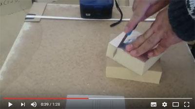 Быстрый срок производства плит ППУ ТИС по сравнению с пенопластом ПС, удобная обработка материала любым режущим инструментом