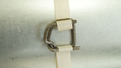 Скорлупа ППУ Пряжка проволочная для ленты 13 мм
