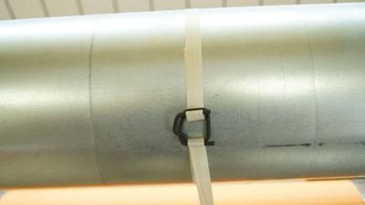 Скорлупа ППУ Пряжка термодиффузионная  для полипропиленовой ленты