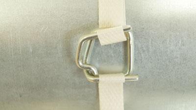 Скорлупа ППУ Пряжка для ленты полипропиленовой 13 мм