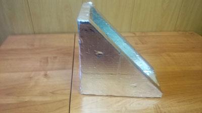 сверхпрочные уголки ППУ покрытые фольгой упаковка для VIP дверей