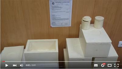 Коробка из пенополиуретана видео