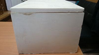 Коробка из пенополиуретана