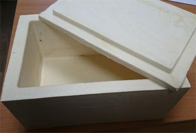Коробка пенополиуретановая