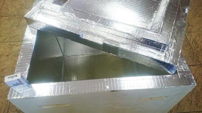 Универсальный термоконтейнер из жесткого пенополиуретана 155 литров объем