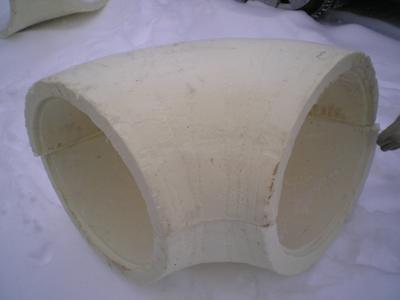 Отвод ППУ из пенополиуретана для теплоизоляции
