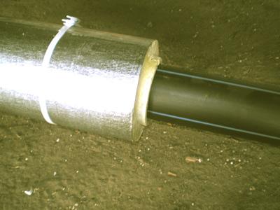 Скорлупа ППУ ТИС Энерго имеет удобные торцевые и продольные замки для герметичной стыковки